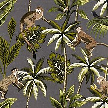 Jolee Fabrics Tropical Jungle Wipe Clean Oilcloth