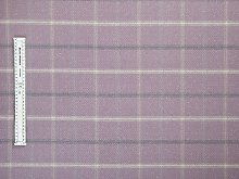 Jolee Tablecloths Lewis Lilac Tartan Wool Effect