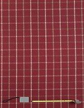 Jolee Tablecloths Lewis Red Tartan Wool Effect