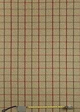 Jolee Tablecloths Lewis Rosso Tartan Wool Effect