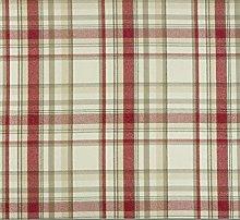 Jolee Tablecloths Skye Cranberry Tartan Wool