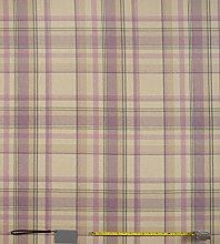 Jolee Tablecloths Skye Pink Mauve Tartan Wool