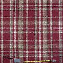 Jolee Tablecloths Skye Red Tartan Wool Effect