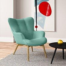 Jolene Lounge Chair Hykkon Upholstery Colour: