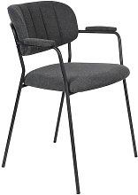 Jolien armchair dark grey
