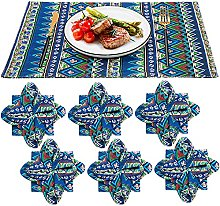 Jollsung Placemats, Dining Table Place Mats Sets