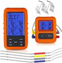 JOMOQ Digital Meat Thermometer, Instant Read BBQ