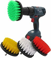 JOMSK Drill Brushes Attachment Kit Cleaning