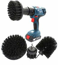 JOMSK Drill Brushes Attachment Kit Scrub Brush
