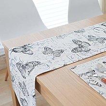 JOMSK Table Mats Set Durable Cotton Linen Table