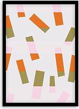 Jonathan Lawes - 'Confetti 02' Framed