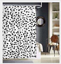 JoneAJ black and white animal print dalmatian spot