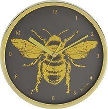 Jones Clocks Bee Wall Clock