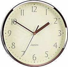 Jones Clocks® Dime Small Round Wall Clock