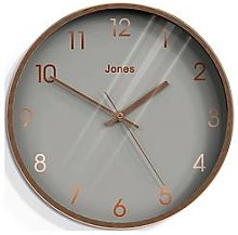 Jones Clocks Fame Copper Wall Clock
