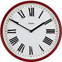 Jones Clocks ® Heartbeat Wall Clock, Contemporary