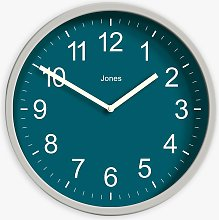 Jones Clocks House Warmer Analogue Wall Clock,