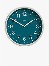 Jones Clocks House Warmer Analogue Wall Clock,