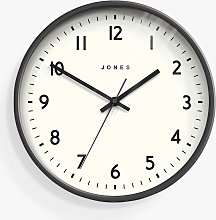 Jones Clocks Jam Analogue Wall Clock, 30cm,