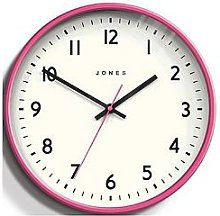Jones Clocks Jam Wall Clock