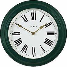 Jones Clocks® Large Wall Clock - The Cocktail