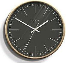 Jones Clocks Scandi Wood EffectWall Clock
