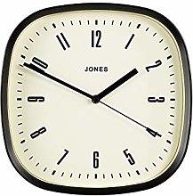 Jones Clocks® Square Retro Wall Clock, The Marvel