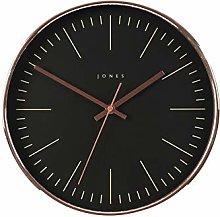 Jones Clocks Studio Copper Wall Clock Modern