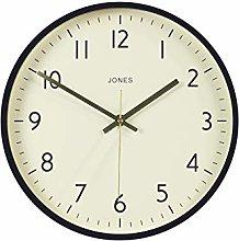 Jones Clocks® Studio Round Wall Clock Modern