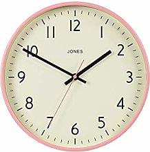 Jones Clocks® Studio Round Wall Clock - Round