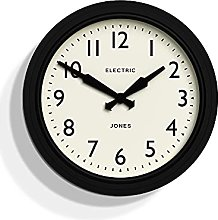 Jones Clocks® Telecom Wall Clock Classic Design