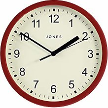 Jones Clocks® The Spin - Small Clock - Round Wall