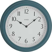 Jones Clocks Venetian Wall Clock - Blue