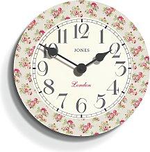 Jones Rose Clock.
