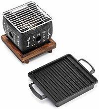 JONJUMP Barbecue Portable BBQ Grill Charcoal