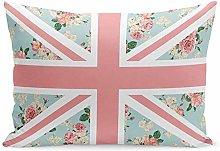 jonycm Pillowcase Pink United English Roses Union
