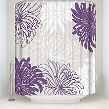 JOOCAR Design Shower Curtain, Chrysanthemum Daisy