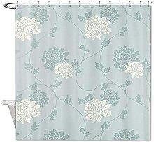 JOOCAR Design Shower Curtain, Duck Egg Blue