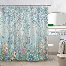 JOOCAR Design Shower Curtain, Enchanted Forest
