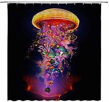 JOOCAR Design Shower Curtain, Jellyfish Creative