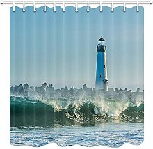 JOOCAR Design Shower Curtain, Lighthouse