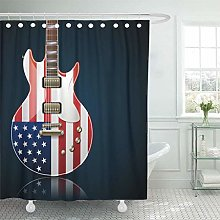 JOOCAR Design Shower Curtain, Music Electric