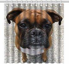 JOOCAR Design Shower Curtain, Nature Pet Animal