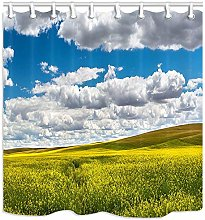 JOOCAR Design Shower Curtain, Nature Rape Field