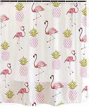 JOOCAR Design Shower Curtain, Pink Flamingo