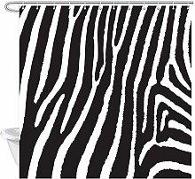 JOOCAR Design Shower Curtain, Wild Animal Pattern