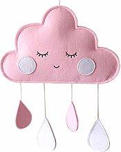 Joocyee Felt Cloud Raindrop Pendant Wall