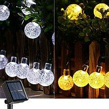 Joomer Globe Solar String Lights, 39Ft 60 LED
