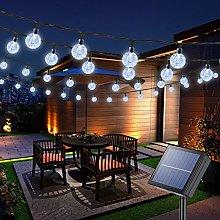 Joomer Globe Solar String Lights, 72ft 100 LED