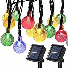 Joomer Globe Solar String Lights Garden Outdoor,